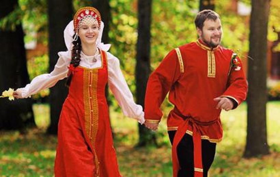 Как на Руси свадьбы играли