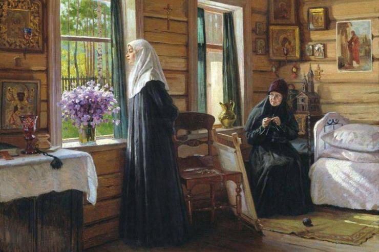 А жизнь так хороша! художник М. И.Игнатьев.